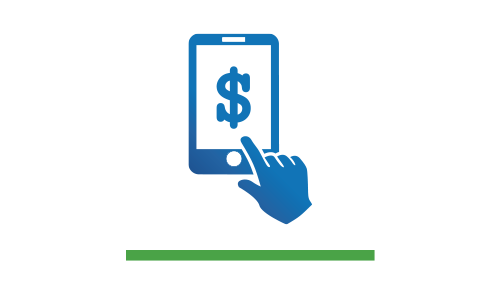 FAST BALANCE: View balance and last five transactions with a swipe of your finger.